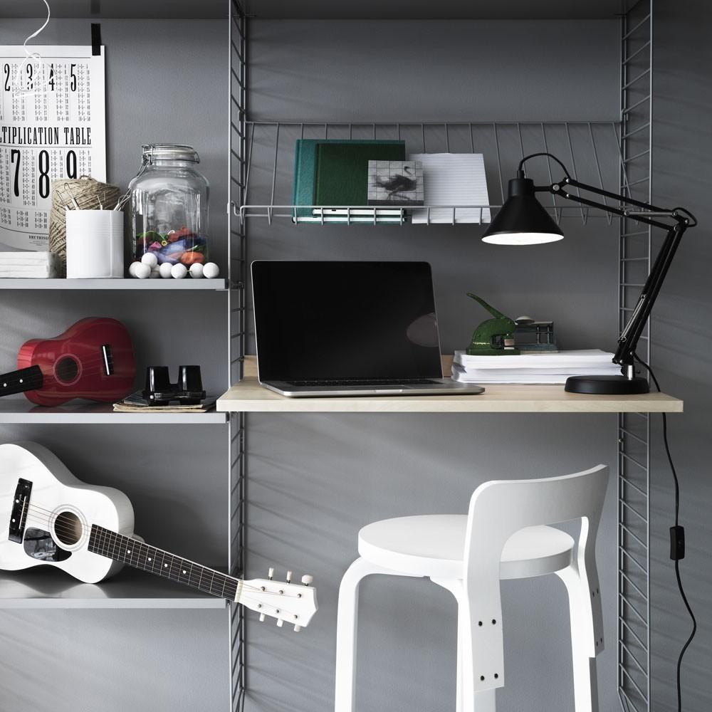 Grijze planken - String-systeem String Furniture