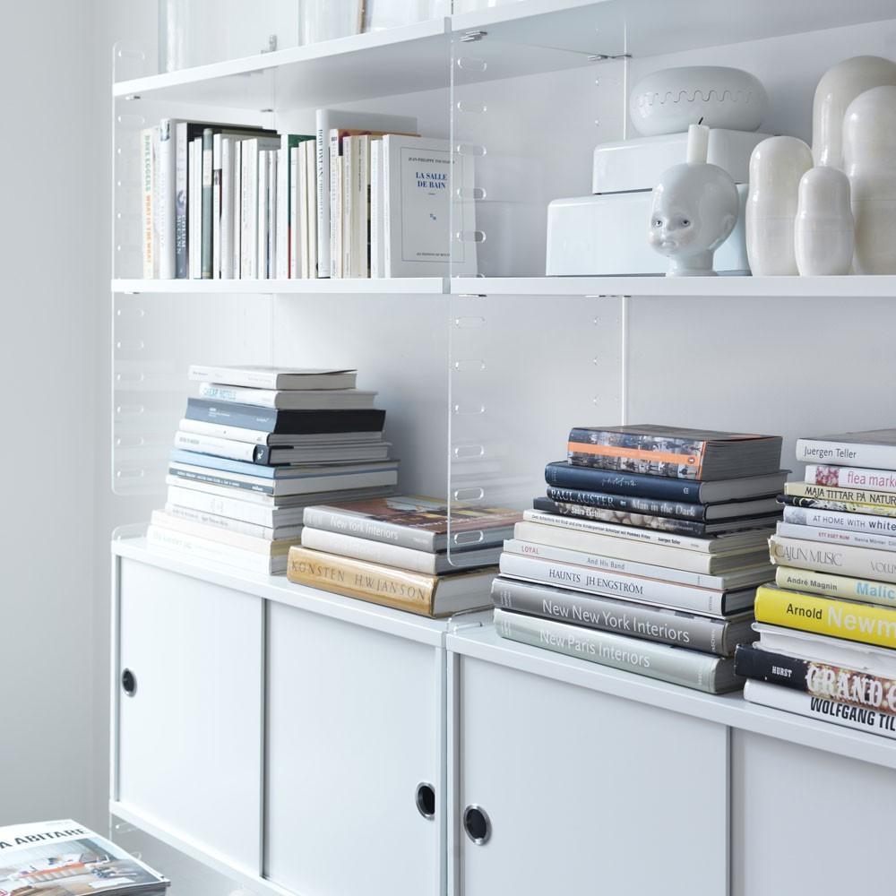 Witte planken - String-systeem String Furniture