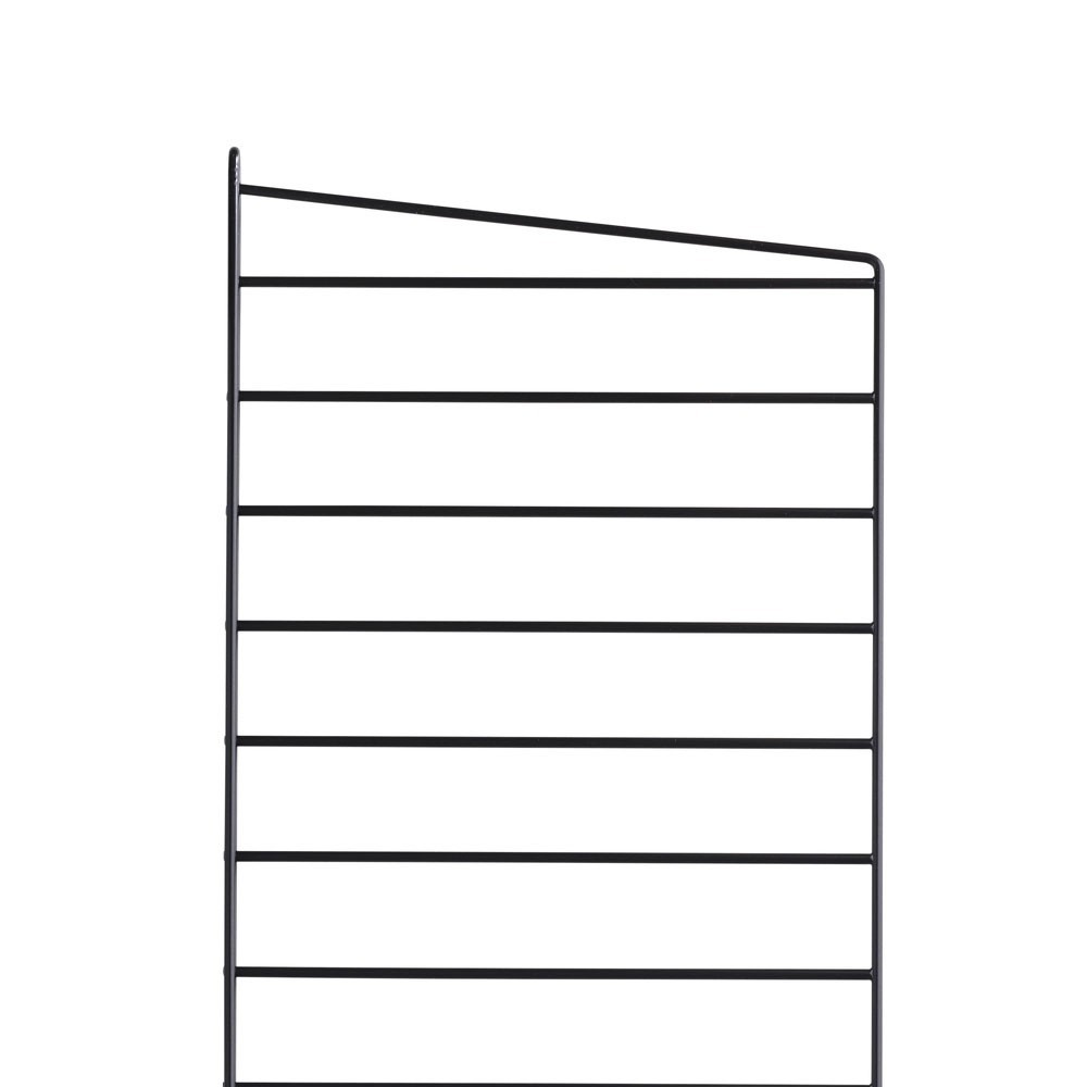 Black floor panel(s) - String system String