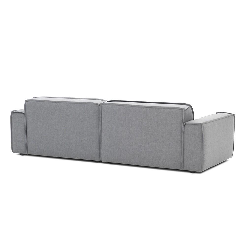 Edge sofa 3 seaters Sydney 91 Grey Fést