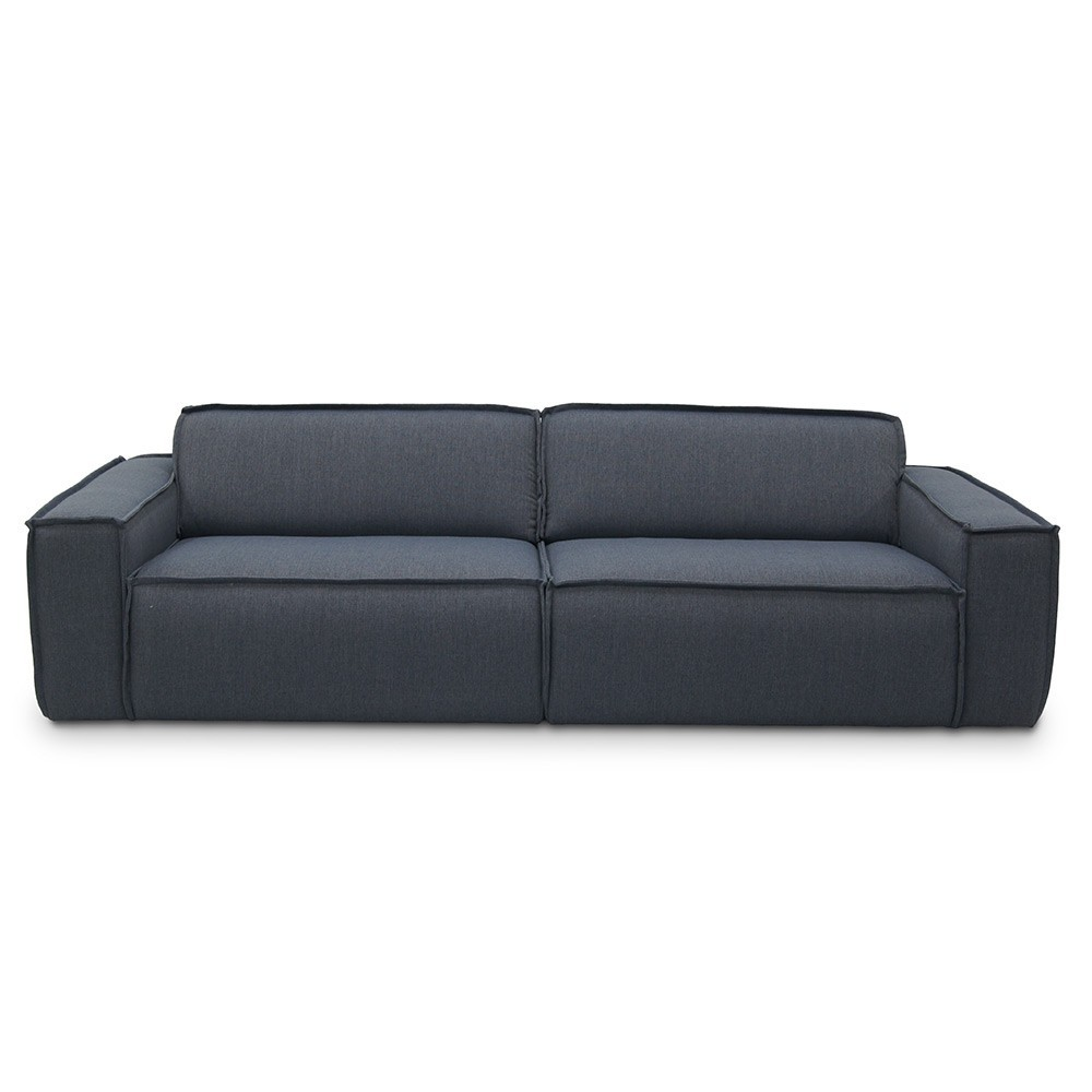 Edge Sofa 3 Seaters Sydney 81 Blue