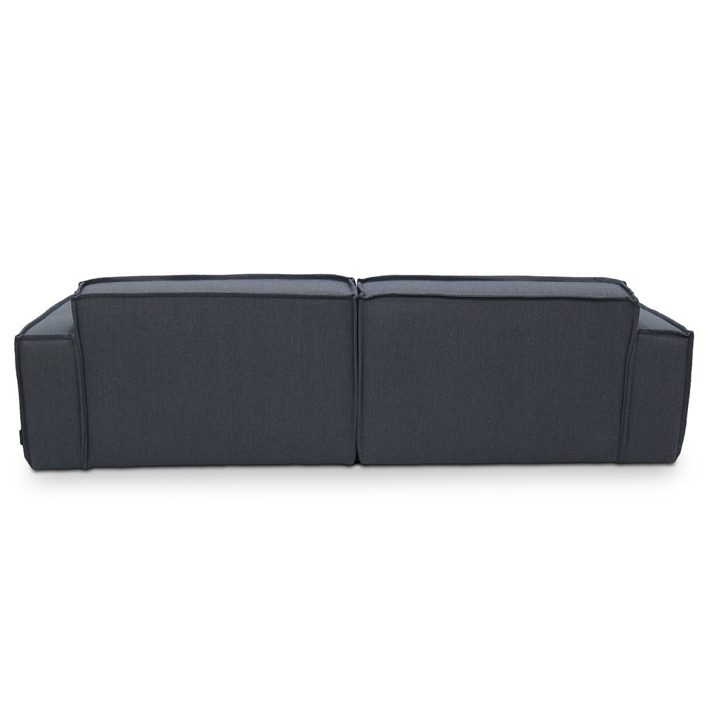 Edge sofa 3 seaters Sydney 81 Blue Fést