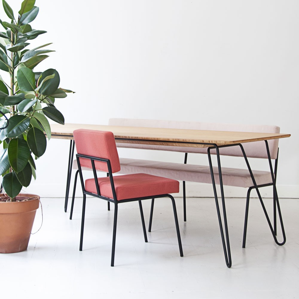 Table à manger Ray bamboo Fést