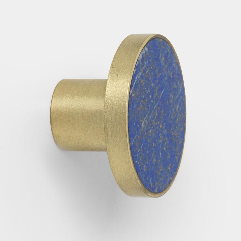 Patère Stone Blue Lapis Lazuli L Ferm Living