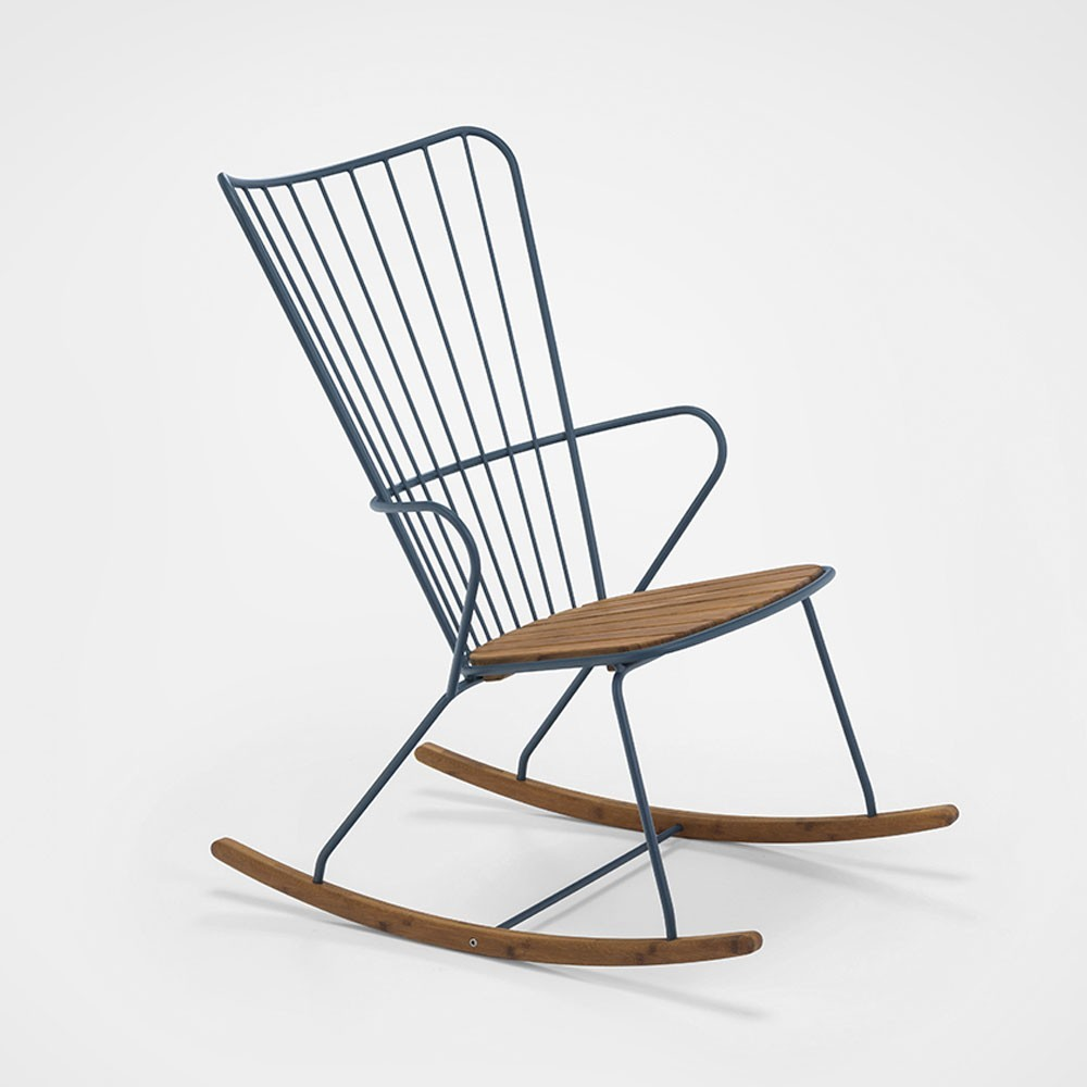 Paon rocking chair midnight blue Houe