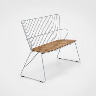 Paon bench taupe