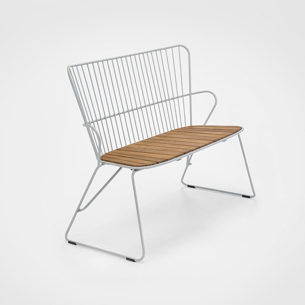 Paon bench taupe Houe