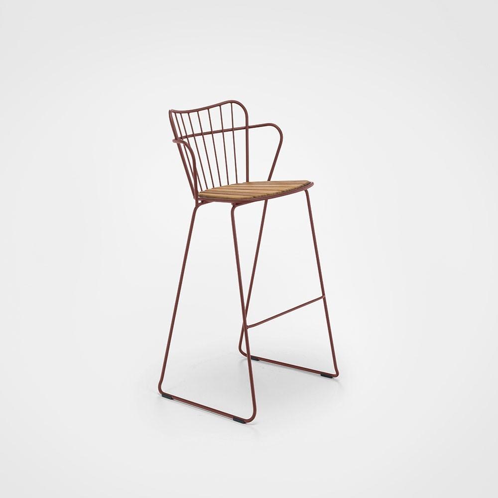 Paon bar stool paprika Houe