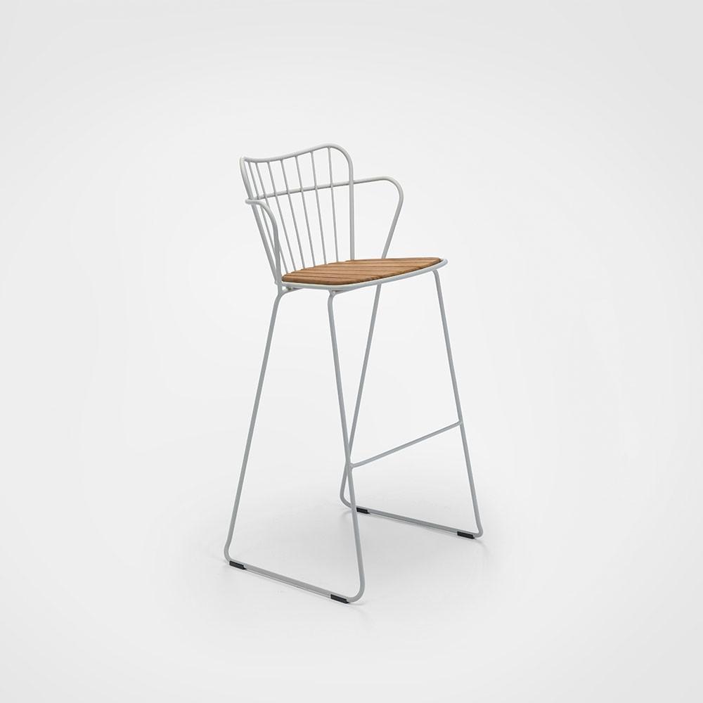 Paon bar stool taupe Houe