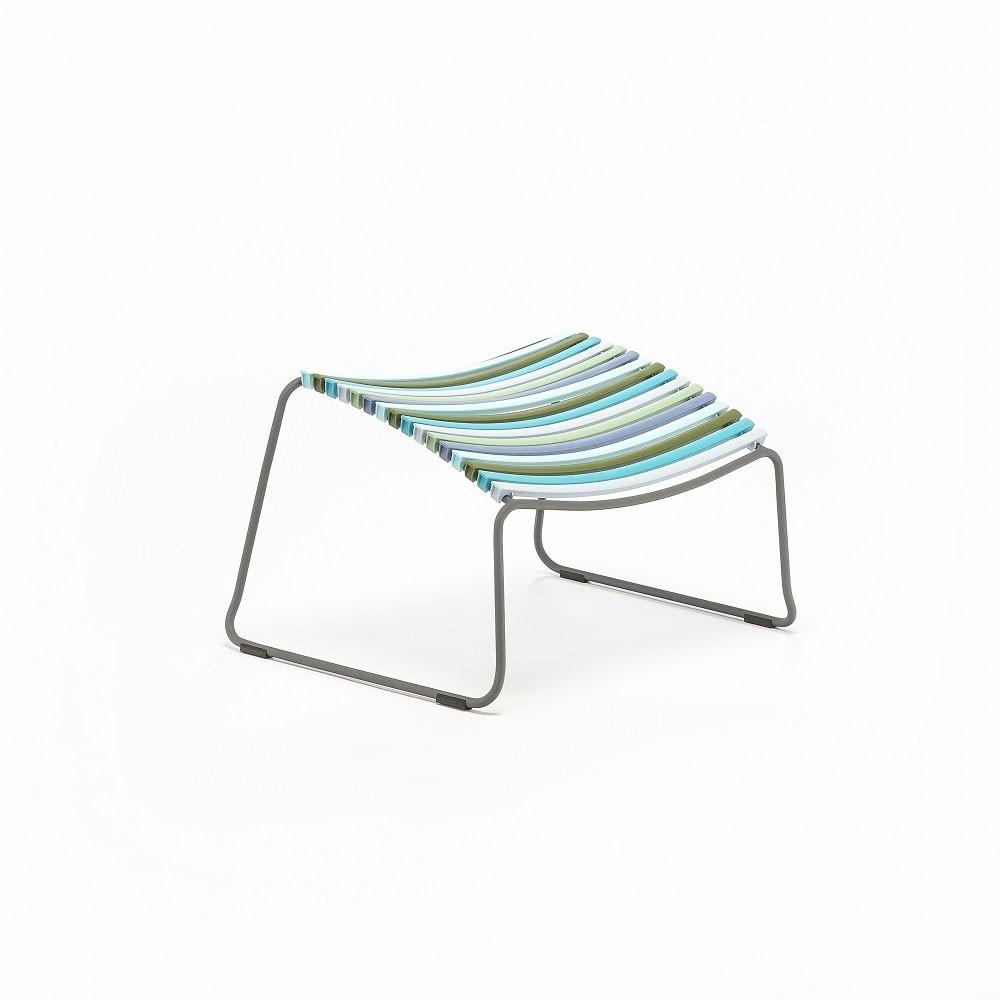 Click footrest multicolor 2 Houe