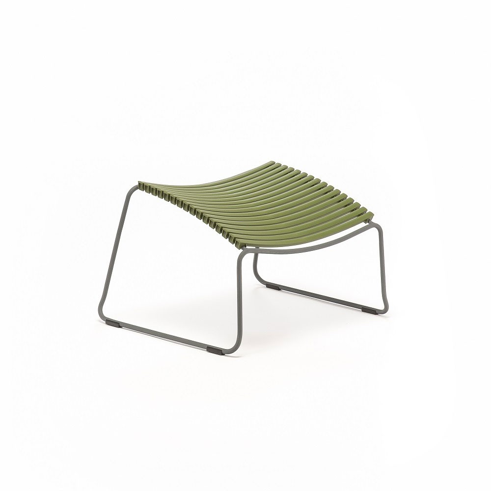 Click footrest olive green Houe