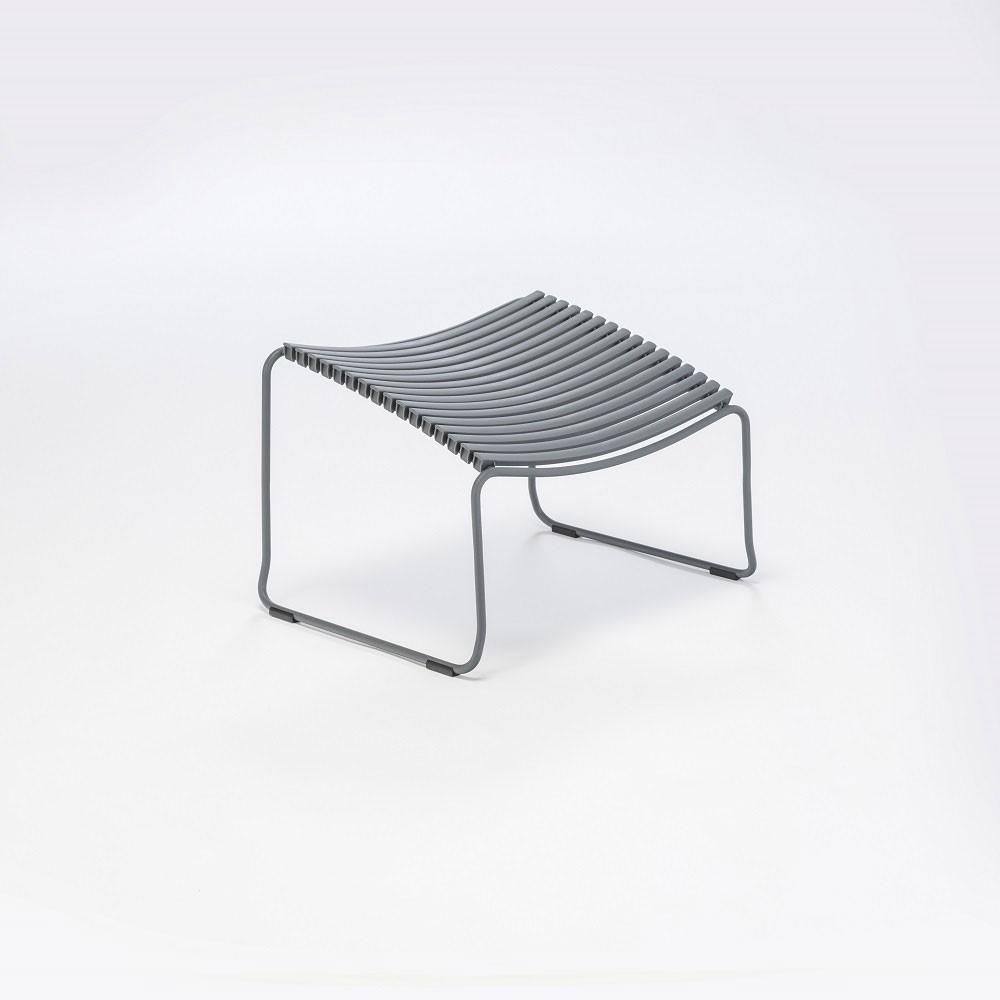Click footrest dark grey Houe