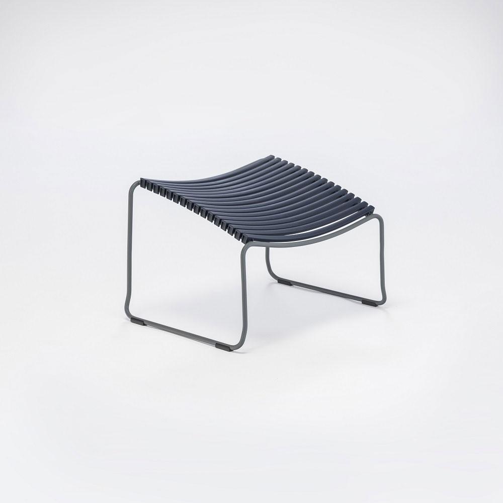 Click footrest dark blue Houe