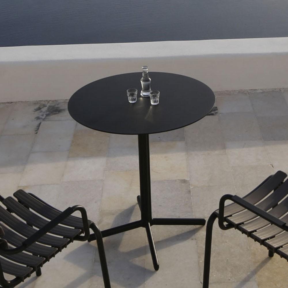 Flor tafel Ø60 zwart Houe