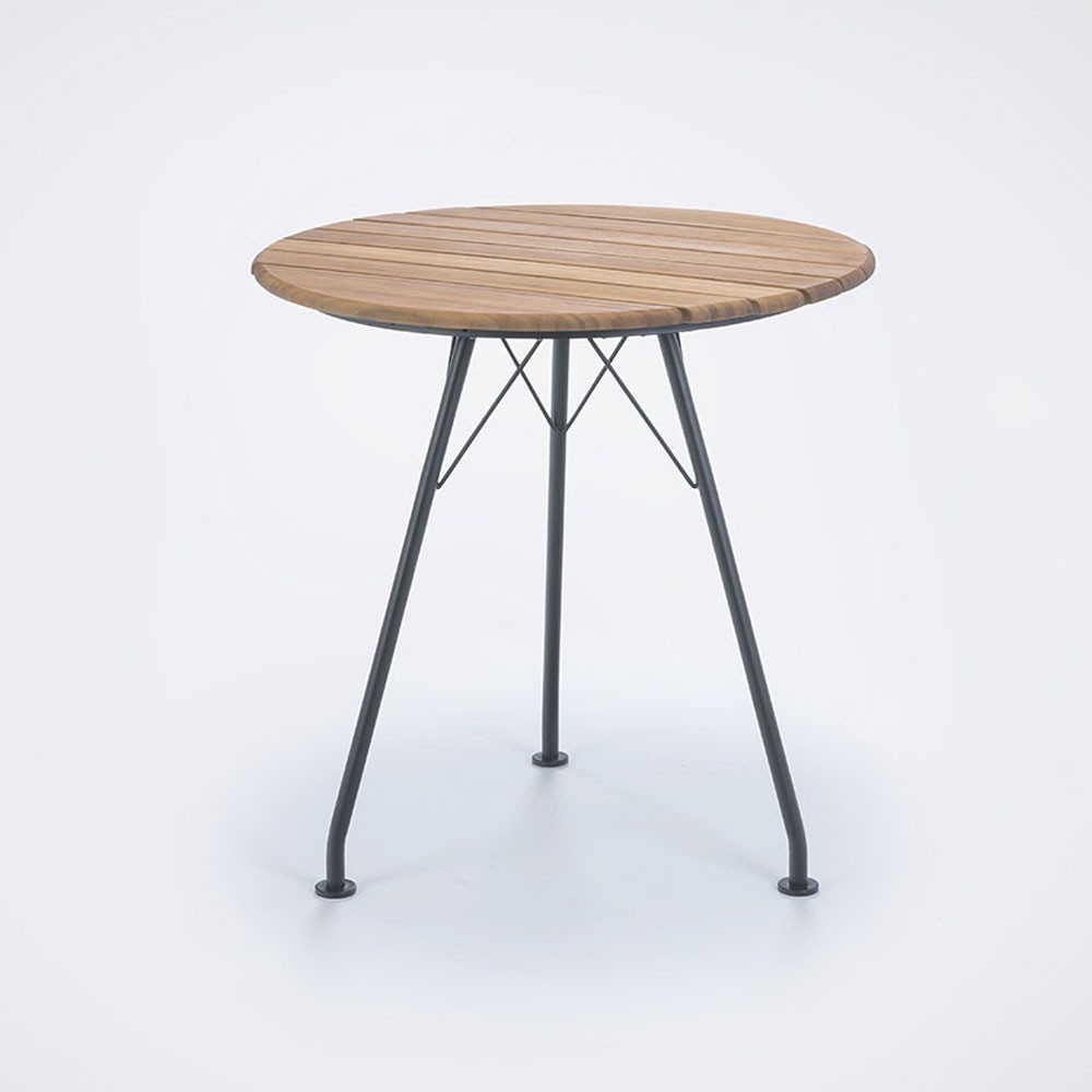Circum bamboo cafe table Ø74cm Houe