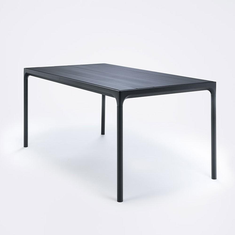 Four eettafel 90x160cm zwart Houe