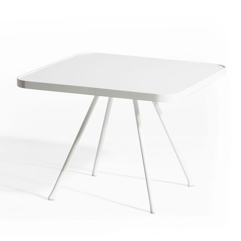 Table d'appoint Attol 55cm blanc Oasiq