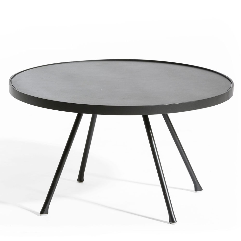 Attol side table 60cm anthracite Oasiq