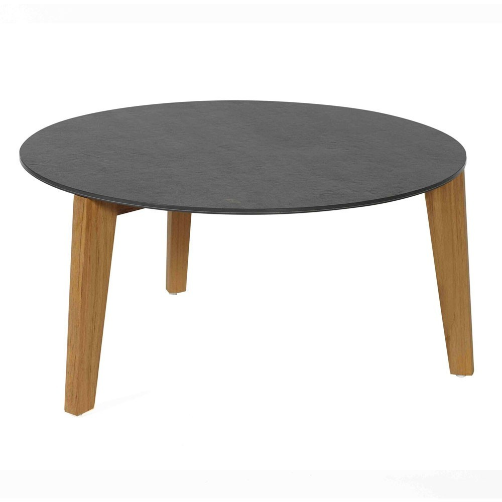 Attol ceramic side table 70cm anthracite Oasiq