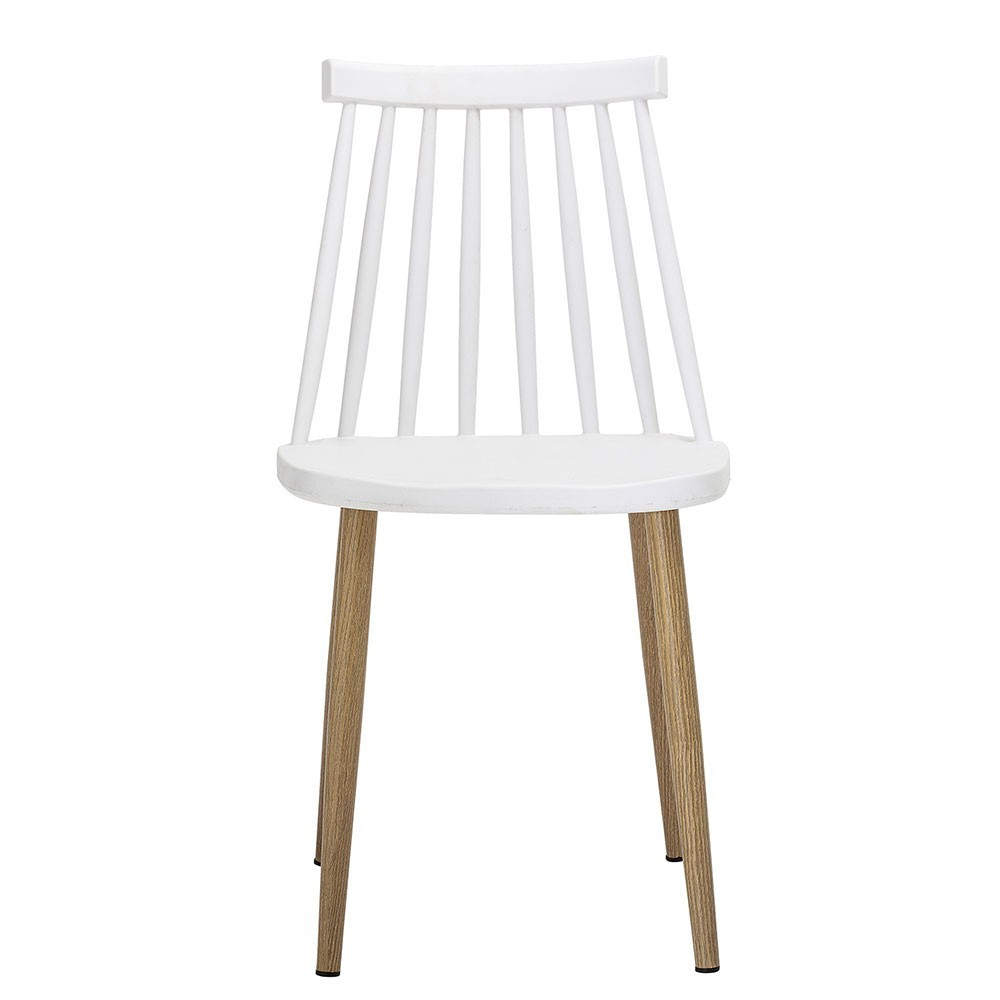 Bajo white chair Bloomingville