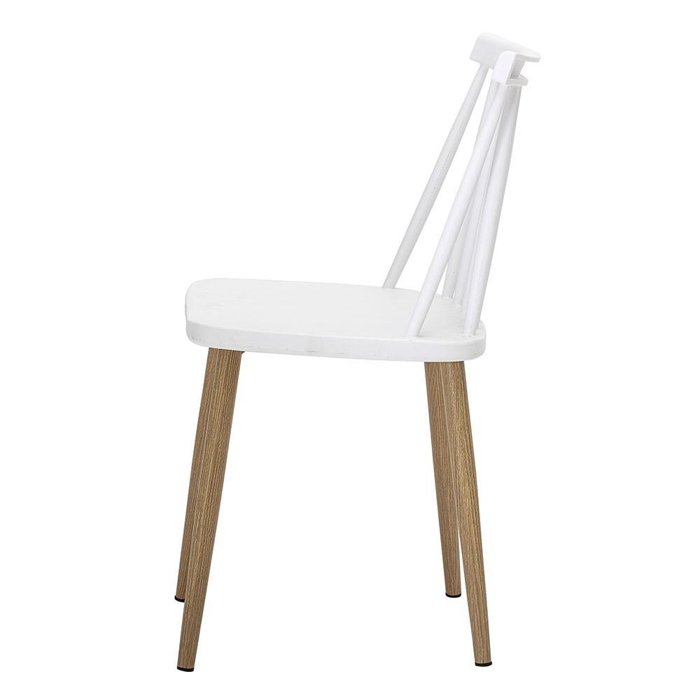 Bajo white chair Bloomingville