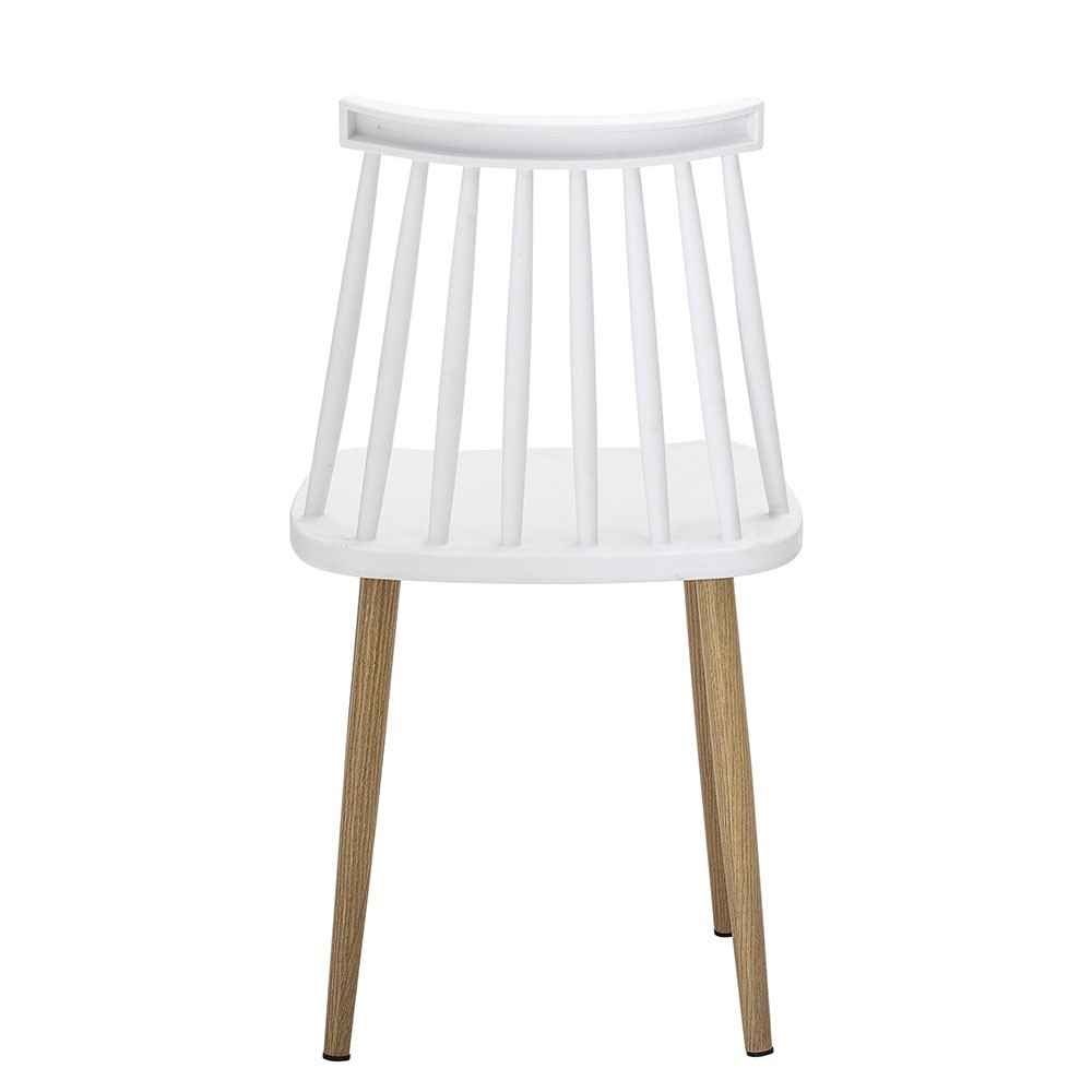 Chaise Bajo blanc Bloomingville