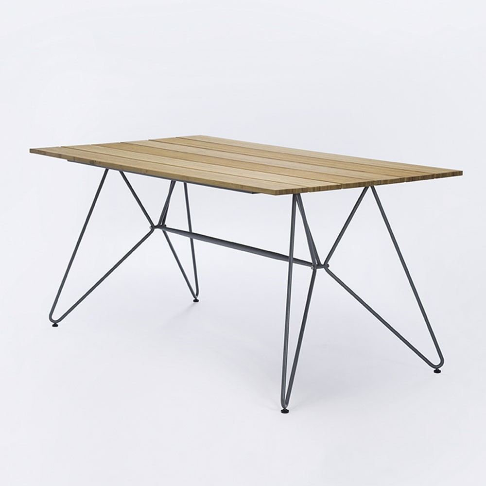 Sketch dining table 160cm bamboo Houe