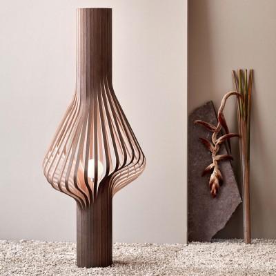 Diva smoked oak floor lamp Northern
