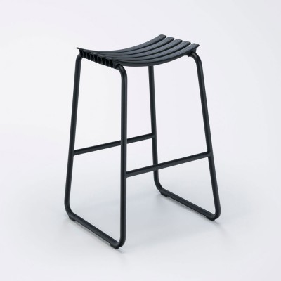 Clips bar stool black Houe