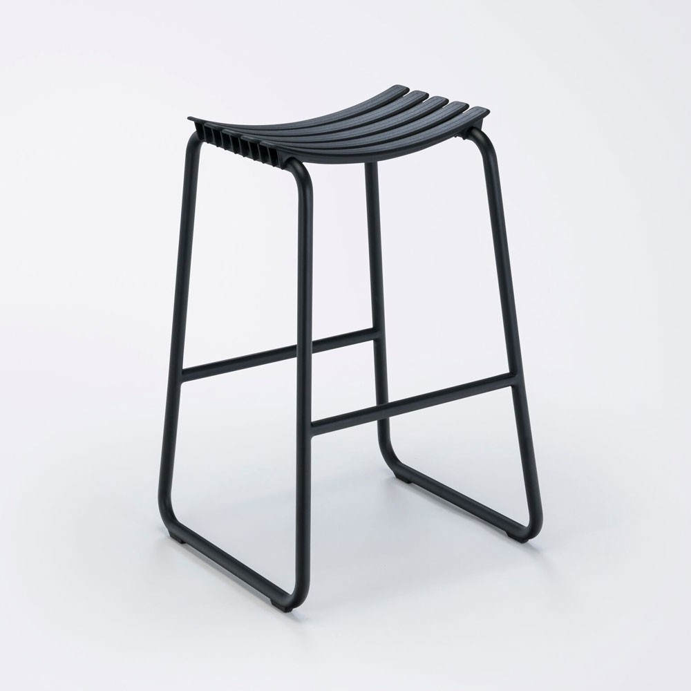 Clips bar stool black Houe