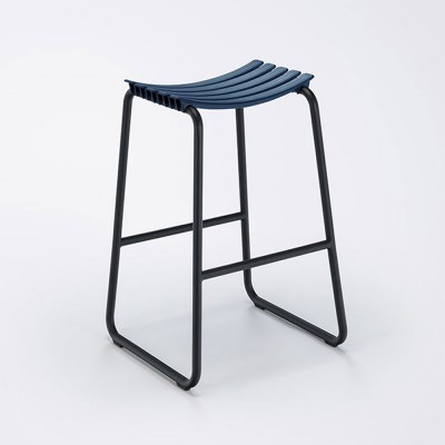 Clips bar stool midnight blue Houe
