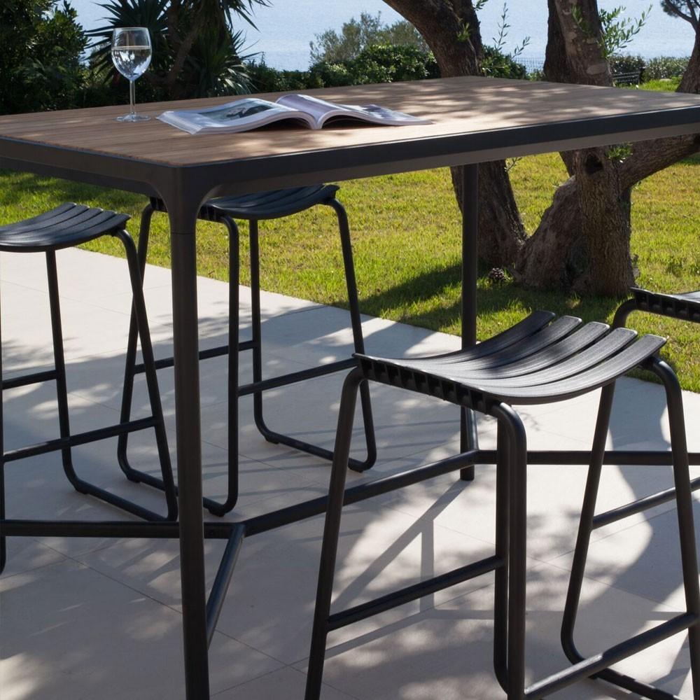 Clips bar stool plum Houe