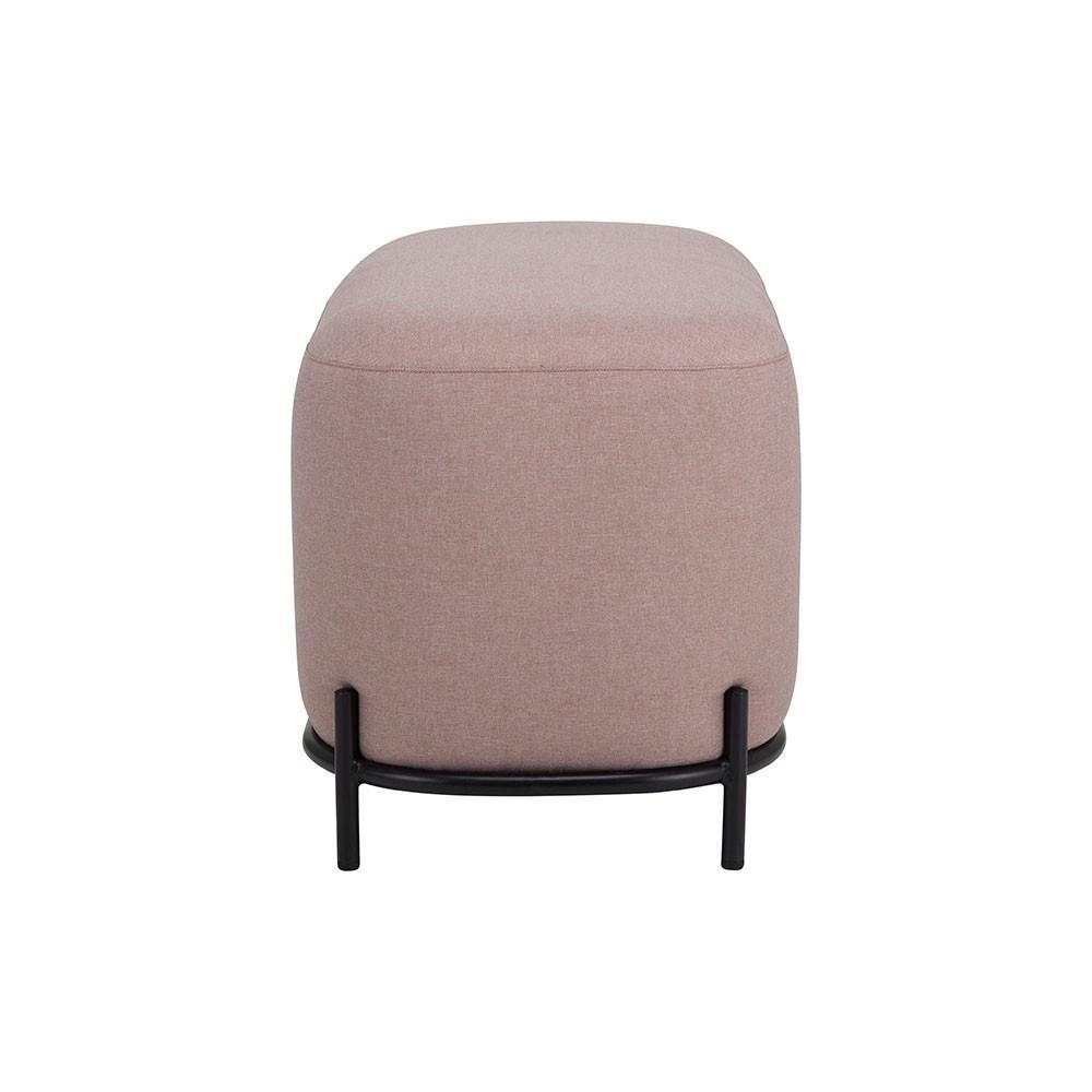 Old pink pouf 80cm HKliving