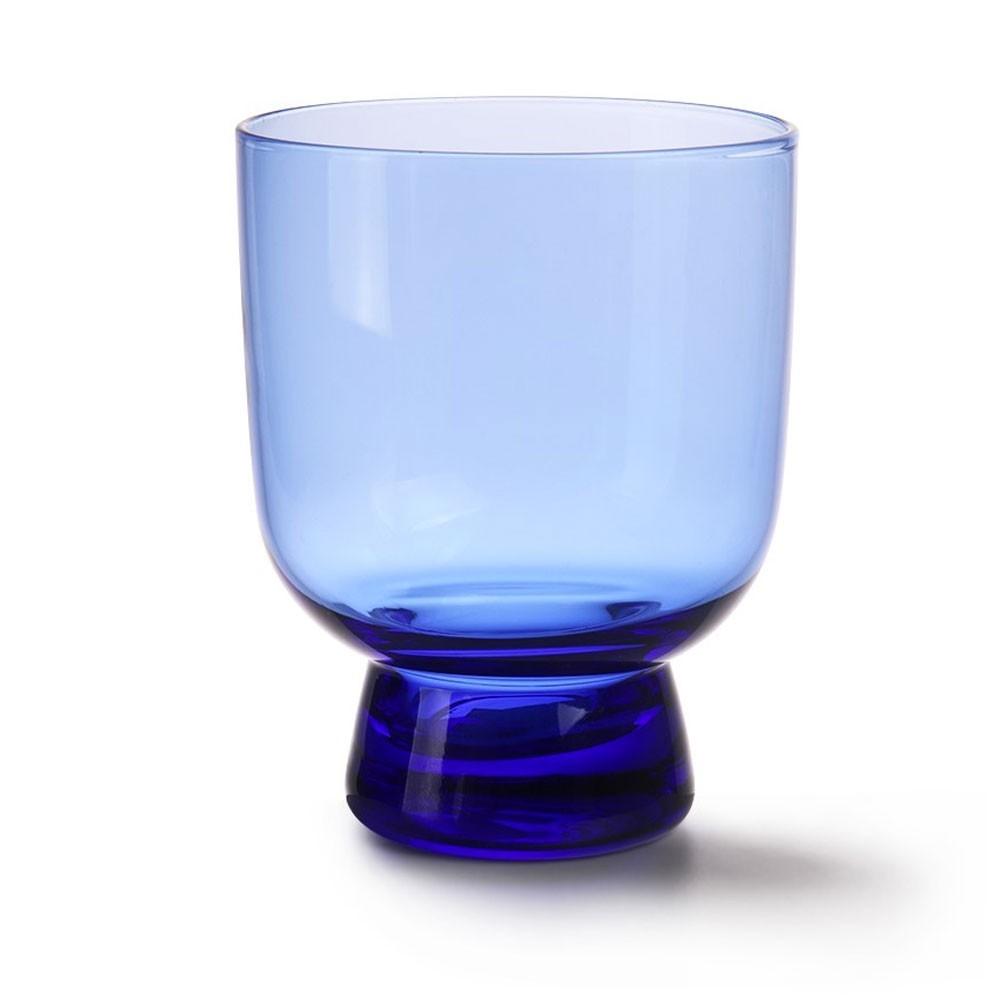 Cobalt glass M (pack of 6) HKliving