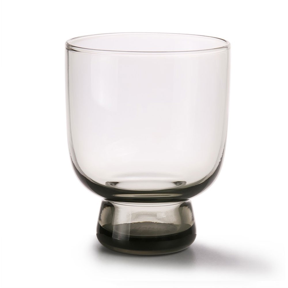 Smoked grey glass M (pack of 6) HKliving