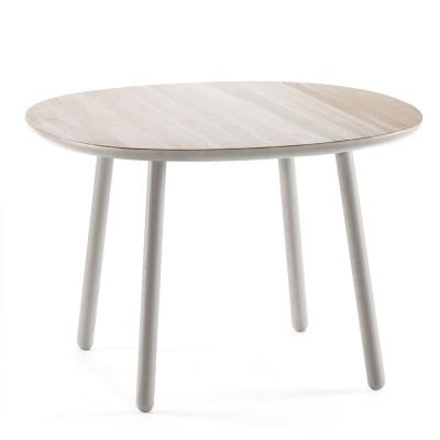 Table à manger Naïve gris Ø110cm Emko