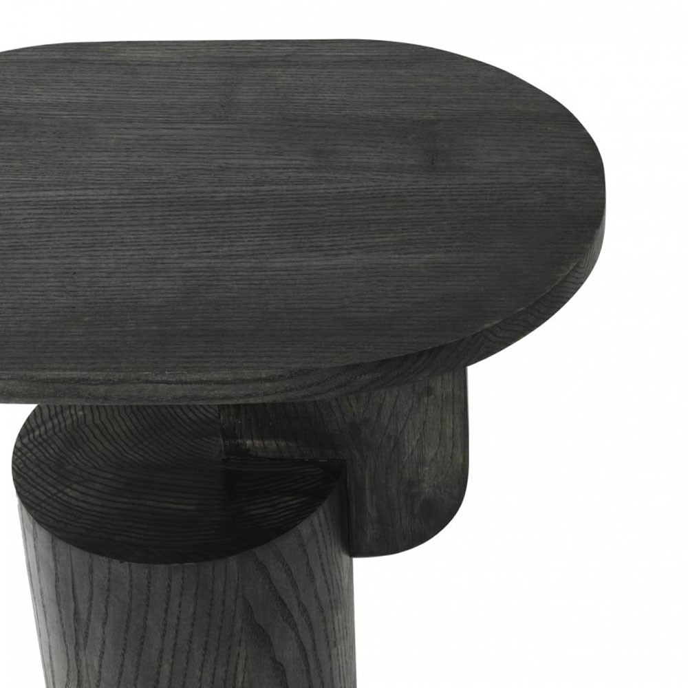 Table d'appoint Insert noir Ferm Living