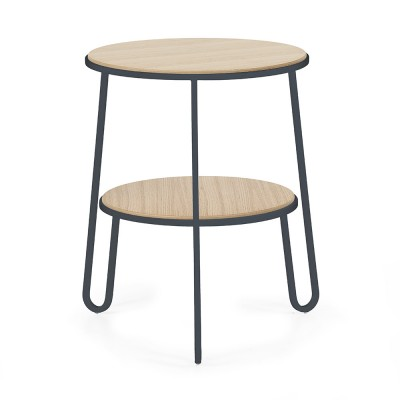 Side table Anatole slate grey oak Hartô