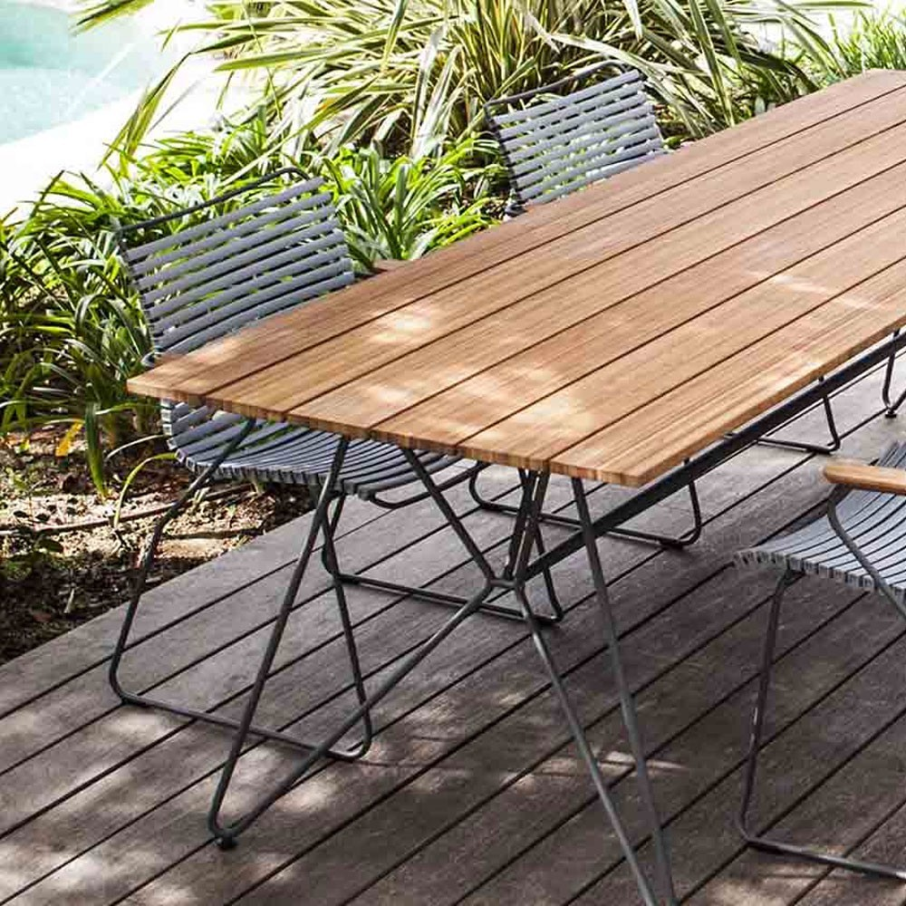 Sketch dining table 220 cm bamboo Houe
