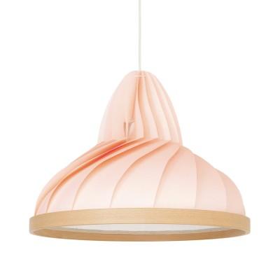Hanglamp Wave pastel roze Snowpuppe