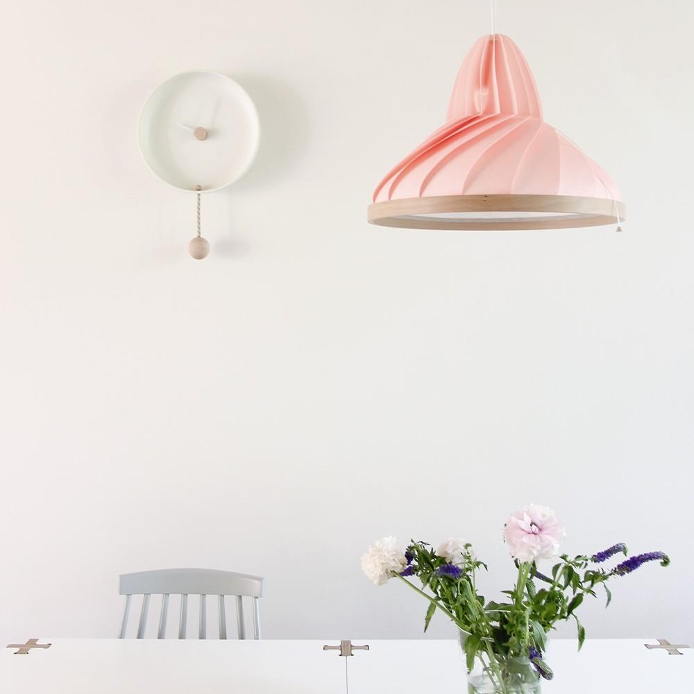 Wave pendant pastel pink Snowpuppe