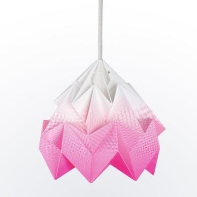 Origami hanger in roze mottenpapier met kleurverloop Snowpuppe