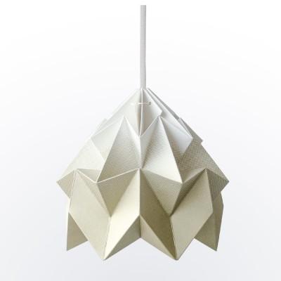 Moth paper origami lamp gradient gold Snowpuppe