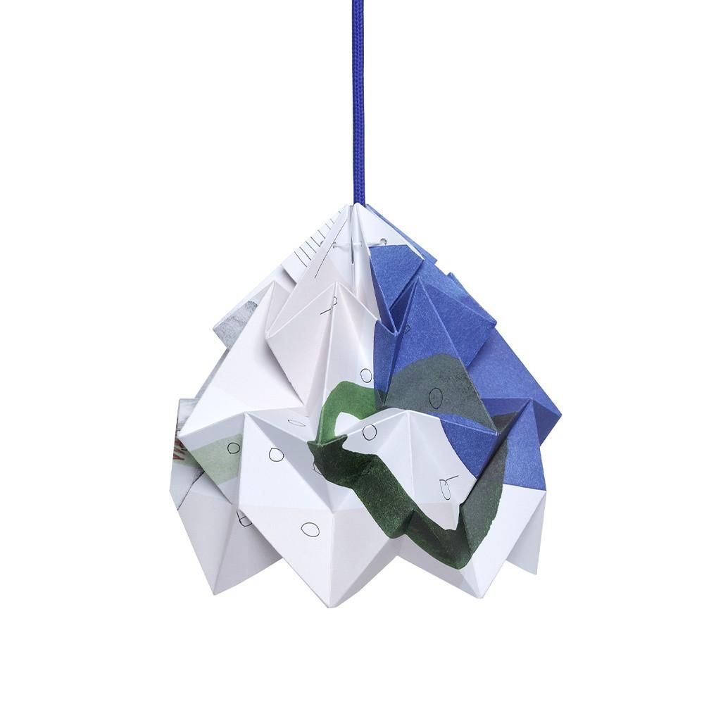 Moth Droom origami papieren hanger Snowpuppe