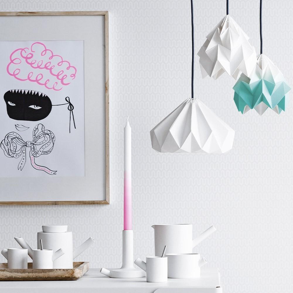 Origami papieren hanglamp Moth Midzomer Snowpuppe