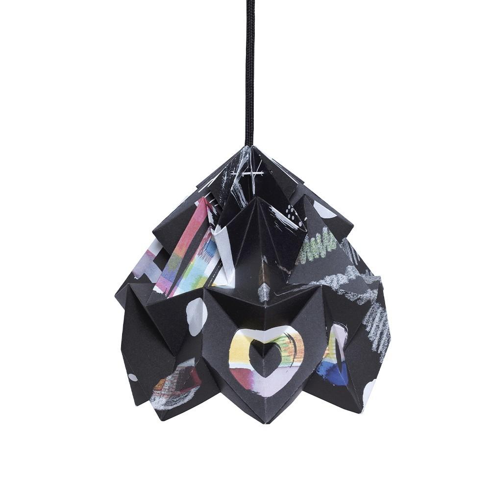 Moth paper origami lamp Night Snowpuppe