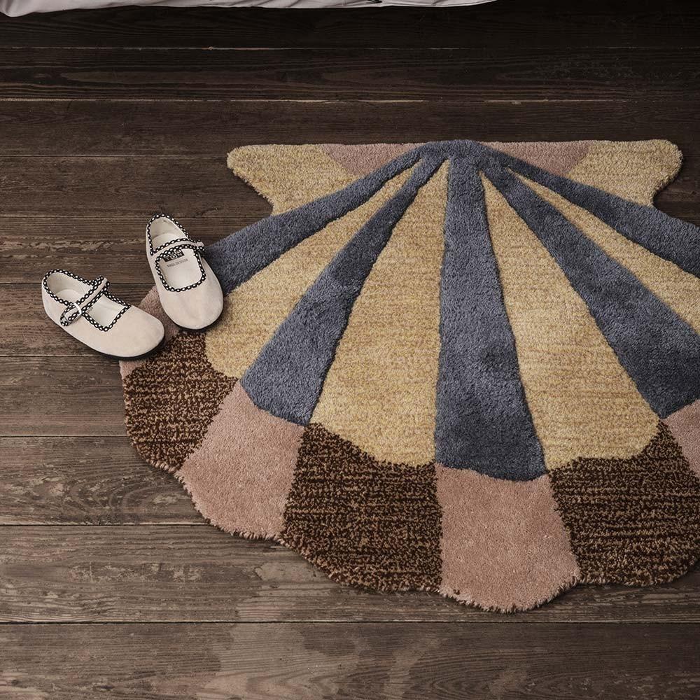 Wall/Floor rug Shell Ferm Living
