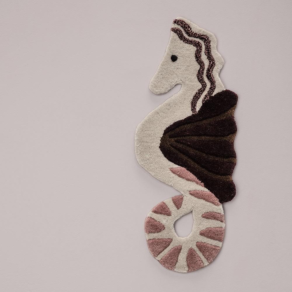 Wall/Floor rug Seahorse Ferm Living