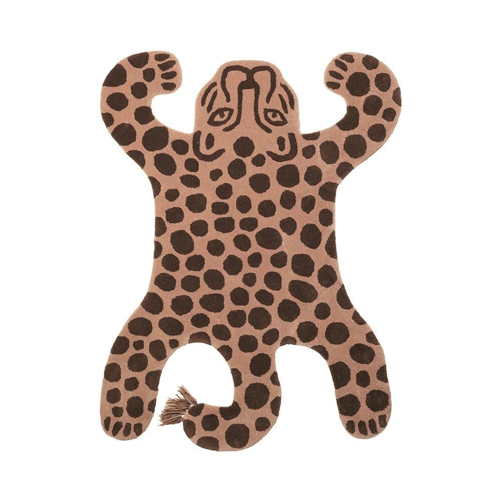 Leopard Safari Teppich Ferm Living