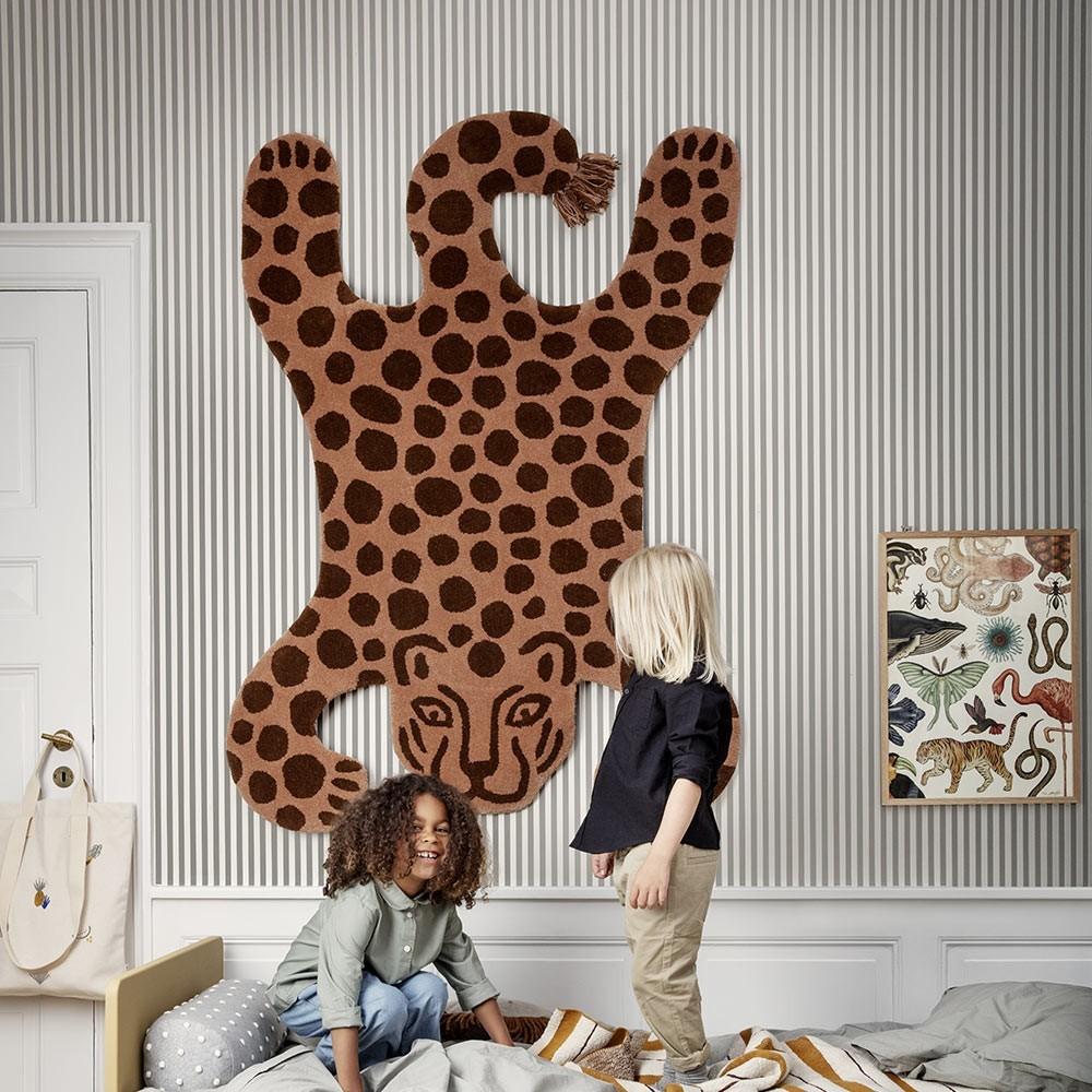Leopard Safari-vloerkleed Ferm Living